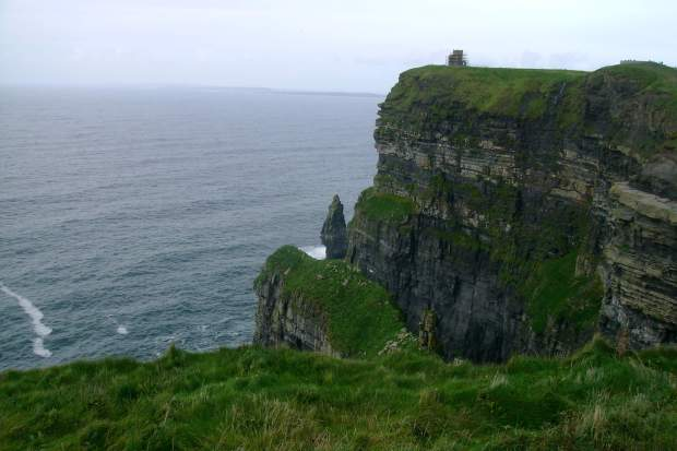 Lookout tower at the Cliffs of Moher, Ireland