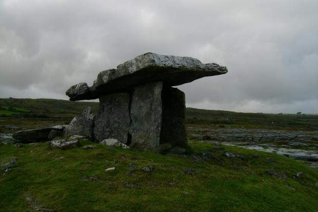 Poulnabrone dolmen, The Burren, Ireland
