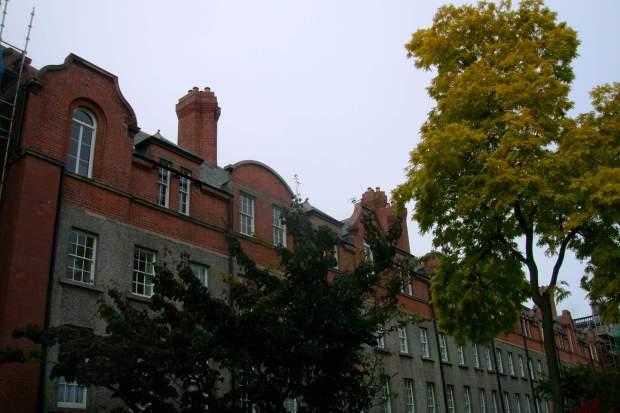 Trinity College campus, Dublin, Ireland