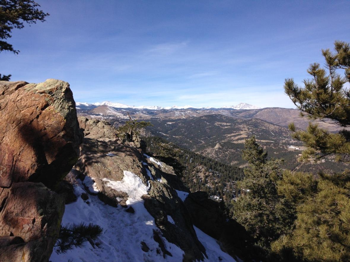 Lost Gulch Overlook, Flagstaff Mountain