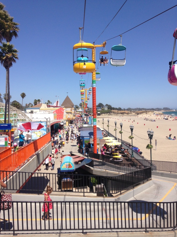 Santa Cruz Beach Boardwalk, photo by Jill Kimball