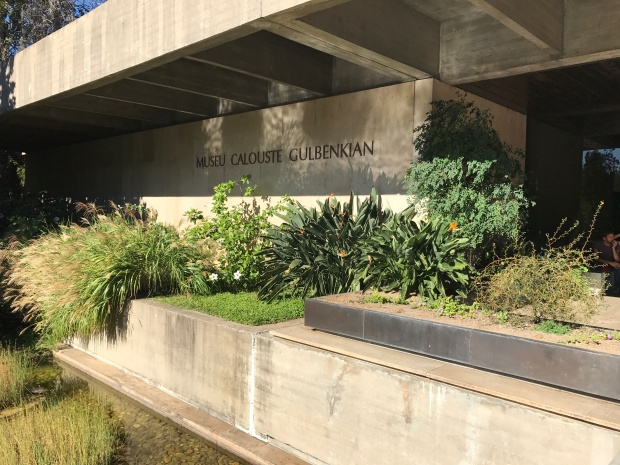 Gulbenkian Museum Lisbon grounds