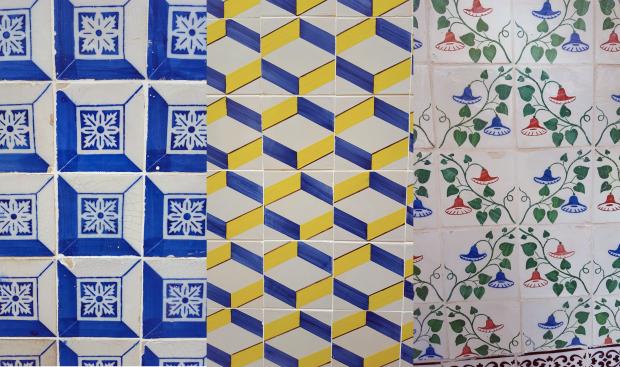Tiles in Lisbon