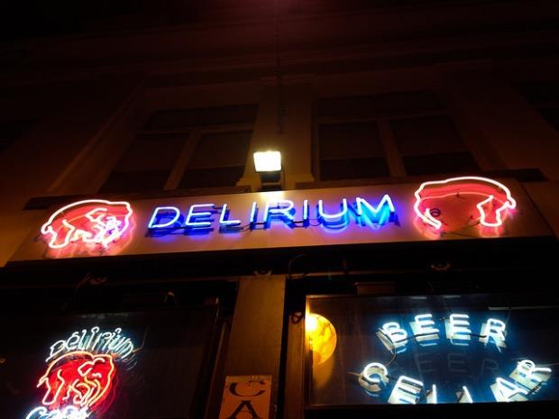 Delirium Cafe Brussels Belgium