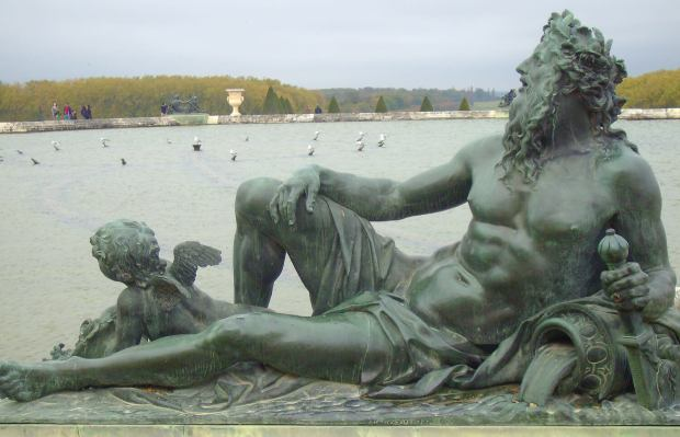 Poseidon fountain, Versailles, France