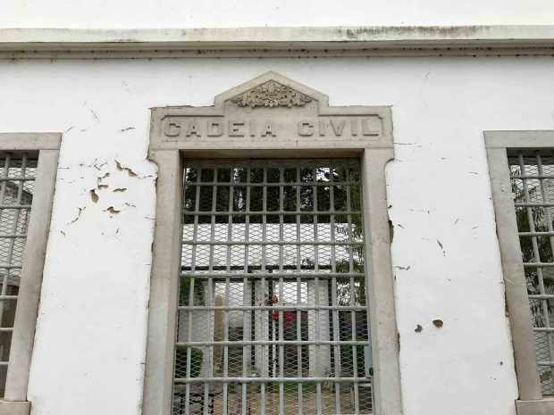 Tavira's public library used to be the town jail. Photo by Jill Kimball