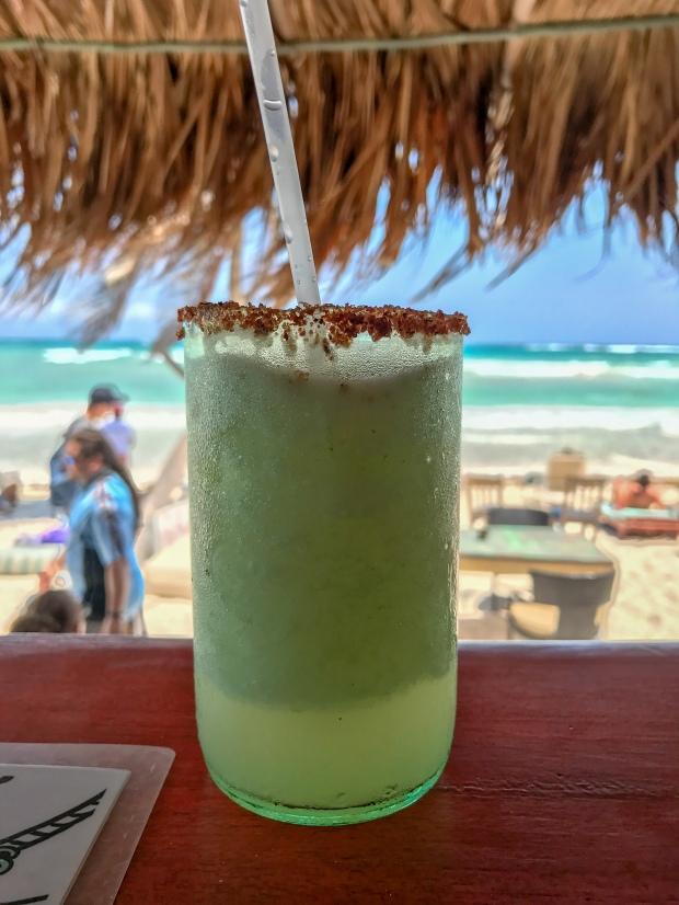 Margarita at Eufemia in Tulum, Mexico, Photo by Jill Kimball